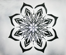 Reusable stencil wall art decor geometric sacred geometry mandala craft
