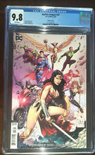 Justice League #37 Variant Cover CGC 9.8
