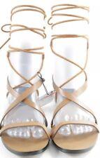 MANGO Roman Sandals beige beach look Women's Size UK 5 Women's Shoes