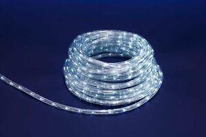 Tubo Luminoso A Led 26 Metri Bianco Interno Ed Esterno Con 8 Giochi Di Luce