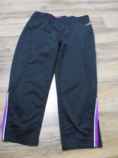 Bcg Running Woman's Fitted Capri Black Back pocket  Size XS