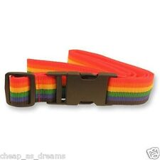 Luggage Suitcase Lock Belt Strap Travel Baggage Tie Adjustable Mixed Colours