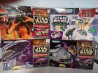 Star Wars micro machine playset collection Hoth, Death Star, Rebel Transport +