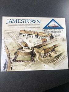 US 4136 Settlement Of Jamestown Souvenir Page First Day Cover 2007