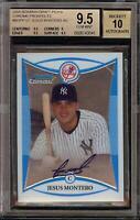 2008 Bowman Chrome Jesus Montero Rookie RC Autograph BGS 9.5 Gem Mint 10 Auto 16