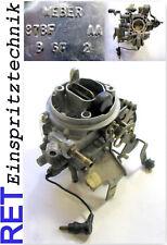 Carburateur weber 87 bfaa FORD FIESTA 1,0 Ultrasons Nettoyé Original