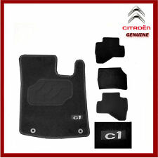 Genuine Citroen C1 Premium Tailored Carpet Floor Mats, Front & Rear 1608724080