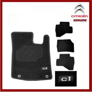 Genuine Citroen C1 Premium Tailored Carpet Floor Mats, Front & Rear 1608724080