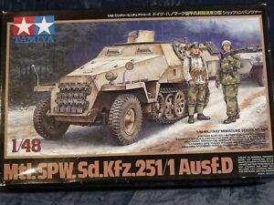 1/48 Sd.Kfz.251/1 Ausf.D  BY  TAMIYA  MM No 64