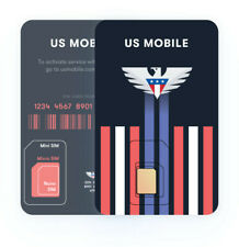 US Mobile Prepaid Super LTE SIM Card