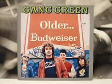 GANG GREEN - OLDER … BUDWEISER LP + INSERT MINT 1989 HOLLAND EMERGO EM 9464-1
