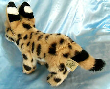 "New listing Vintage Rare S O S Serval plush stuffed Cat 8"""