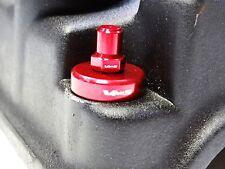 VMS BILLET ALUMINUM RED H22 H22A VALVE COVER WASHER & SEALS GASKET NUTS BOLT KIT