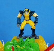 Marvel Universe Heros Action Figure X-Men Wolverine CAKE TOPPER Diorama K1043_E