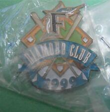 Florida Marlins MLB Baseball Diamond Club Lapel Pin New