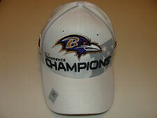 New Era Hat Cap NFL Football Baltimore Ravens S/M 39thirty 2012-13 AFC Champions