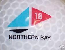 Northern Bay Crystal Golf Course Logo Ball