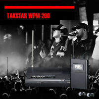 Takstar WPM-200 UHF Wireless Monitor System In-Ear Stereo Transmitter & Receiver
