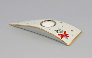 9942805 Wagner&Apel Porzellan Leuchter Teelichthalter Weihnachtsstern 23x9x3cm