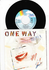 "7"" One Way - Let´s Talk"