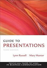 Guide to Presentations (3rd Edition) (Guide to Series in Business Communication)