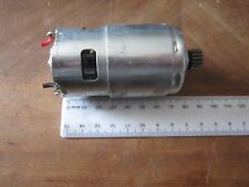 18 TOOTH GEAR   REPLACEMENT DC  MOTOR UNIT JIN DING  JD750  24V             *38