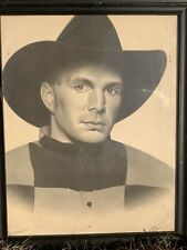 GARTH BROOKS 18x22 Famous Portrait. In Frame