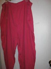 New 3XT PINK Knit Pants lane bryant LBW 3X Tall pull-on