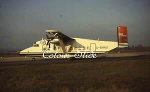 Gill Airways Short SD3-30-100 G-BHHU, c1990s, Colour Slide, Aviation Aircraft