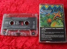 MC THE MANHATTAN TRANSFER-Brasil-MUSICA CASSETTA CASSETTE