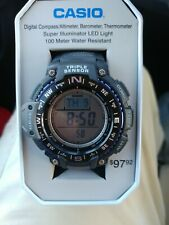 Casio SGW-1000-1ATN Triple Sensor Mens Watch Compass Thermometer Altimeter AB