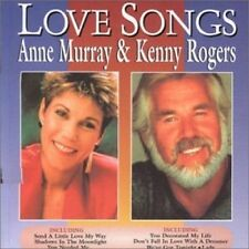 ANNE MURRAY & KENNY ROGERS (2 CD) LOVE SONGS *NEW*
