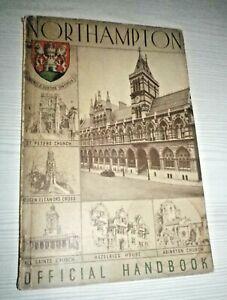 Northampton Official Handbook - Vintage 1937 guide book