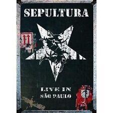 "SEPULTURA ""LIVE IN SAO PAULO"" 2 DVD NEUWARE!!!!!!!!!!"