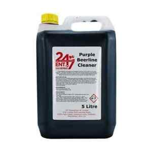 247 Professional Heavy Duty Purple Beer Line Cleaner 5 Litres Pub Bar Club
