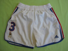 Short Adidas Equipe de France Euro 2000 Lizarazu #3 Vintage Blanc - 44 / L