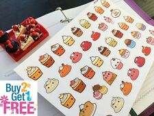 PP294 -- Small Cupcake Life Planner Stickers for Erin Condren (42pcs)