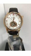 Dreyfuss & Co Men's Skeleton Automatic Rose Gold PVD B.L Strap Watch DGS00093-02