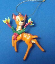 Disney Bambi Grolier Xmas Ornament Xmas Magic Collection Deer Fawn Holiday