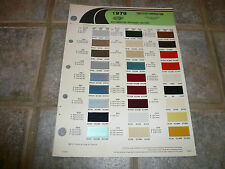 1979 Chrysler Dodge Plymouth DuPont Color Chip Refinish Paints