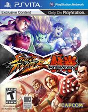 Street Fighter X Tekken PSV New PlayStation Vita, playstation_vi