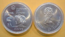 CANADA 1976 OLYMPIC $5 SILVER COIN *No 6**