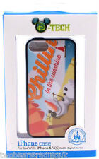 DISNEY PARKS iPHONE 5/5S PHONE CASE/COVER: OLAF CHILLIN' IN THE SUNSHINE (New)