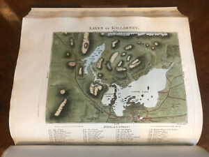1806 Carr's Stranger in Ireland : Tour in Southern & Western - Map + Engravings