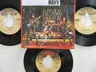 LOT OF 4 ' KISS ' HIT 45's+1P(Copy)[Hard Luck Woman] THE 70's&80's!
