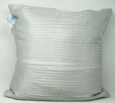 "Martha Stewart Collection 18"" x 18"" Square Decorative Pillow - Gray"
