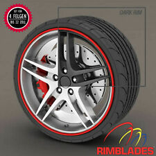 RIMBLADES Ultra Felgenschutz Felgenringe Rim Protector & Styling ROT
