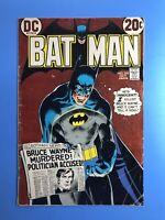 BATMAN #245 The Bruce Wayne Murder Case! DC 1972