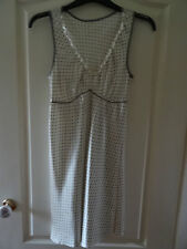 Lovely Yellow/Cream with dots Chemise Size 10