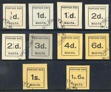 Pre-Decimal Used 1 British Colony & Territory Stamps